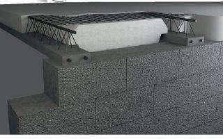 Перекрытие в доме из газобетона: монолитные, сборные конструкции, плиты жби