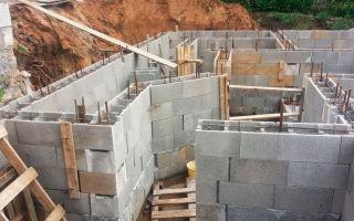 Монолитные блоки: для строительства стен, фундамента