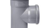 Сантехника канализационные трубы тройники отводы 110