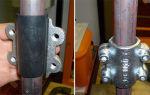 Муфта ремонтная односторонняя для труб