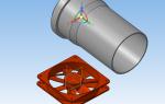 3д модель трубопровода в компасе