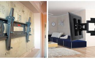 Как повесить телевизор на стену из пеноблоков: крепление кронштейна, высота