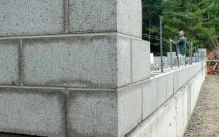 Забор из газобетонных блоков: плюсы и минусы