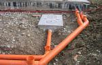 Диаметр канализационных труб для частного дома от унитаза