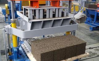 Производство арболита: технология, станок для блоков, оборудование