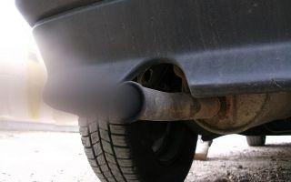 Сильный дым из выхлопной трубы дизель причины