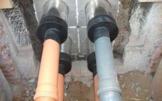 Фитинги для трубы пнд для канализации