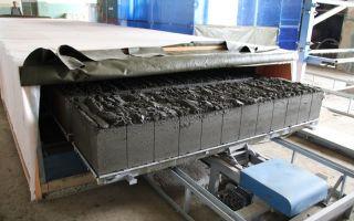Оборудование для производства газобетонных блоков: технология, изготовление