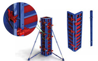 Алюминиевая опалубка: линейная, универсальная, угловая, шарнирная