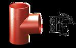 Фасонные части для чугунных труб водопровода