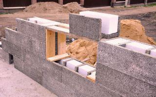Опалубка из кирпича: для фундамента, для заливки бетона