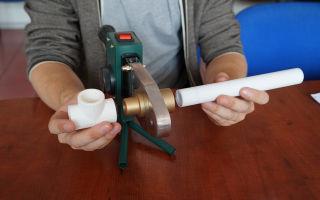 Сварочный для пластиковых труб отопления