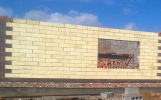 Полистиролбетонные блоки с облицовкой: использование в строительстве