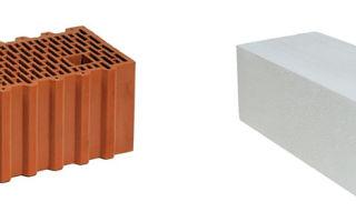 Керамоблоки или газоблоки, что лучше: сравнение
