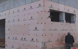 Утепление газосиликатных стен снаружи: чем лучше утеплить дом