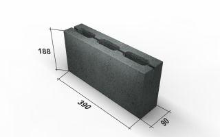 Бетонные блоки для перегородок, для межкомнатных перегородок