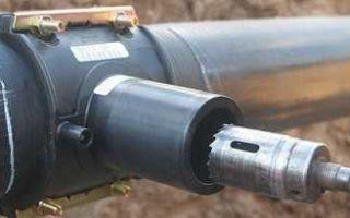 Хомут седелка для врезки в стальную трубу