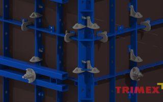 Мелкощитовая опалубка: для фундамента, стен, размеры щитов