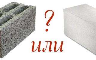 Газобетон или шлакоблок: что лучше, дешевле