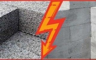 Армирование стен из газосиликатных блоков: выполнение работ