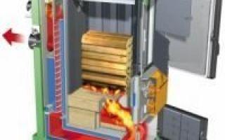 Сжигание топлива в трубе