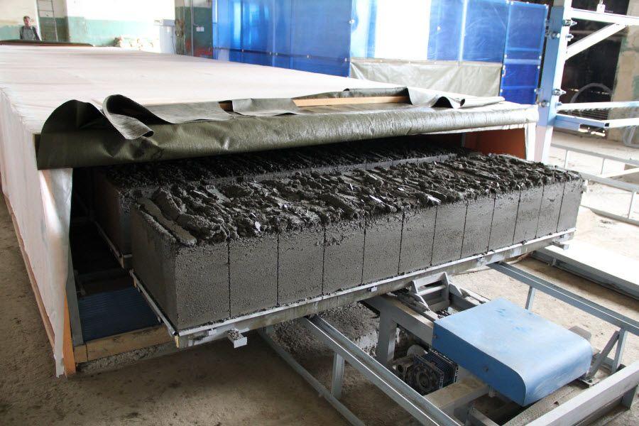 производство газобетонных блоков оборудование цена