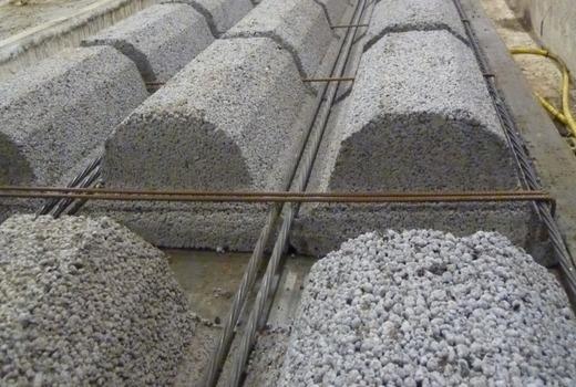 Трехслойная стена с керамзитобетоном бетон м300 московский