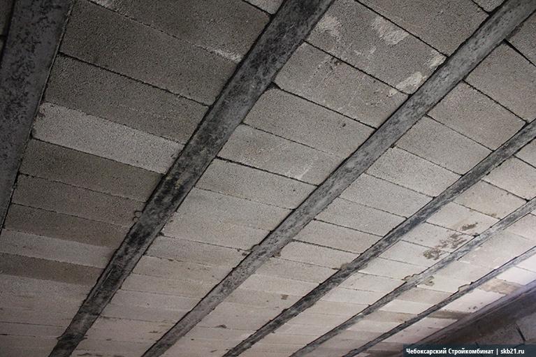 Монолитные перекрытия из керамзитобетона цементный раствор м100 цена за куб