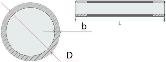Трубный калькулятор для расчета объема трубы в м3
