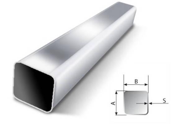 Как найти диаметр квадратной трубы