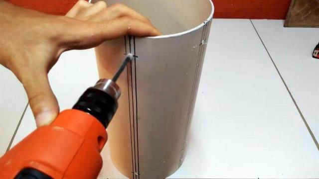 Система хранения из труб пвх своими руками