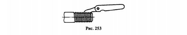 Трубная цилиндрическая трапецеидальная резьба