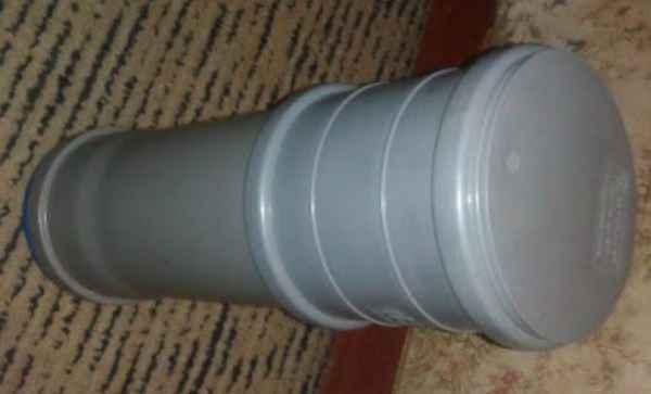 Футляр для электродов из пластиковой трубы