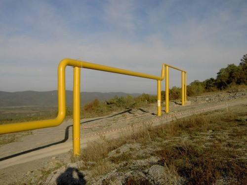 Футляр газовой стальной трубы