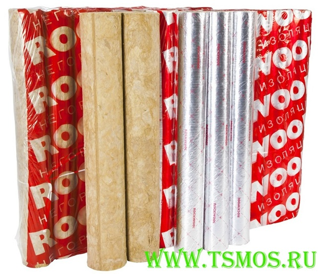Цилиндры теплоизоляционные rockwool для труб цилиндры