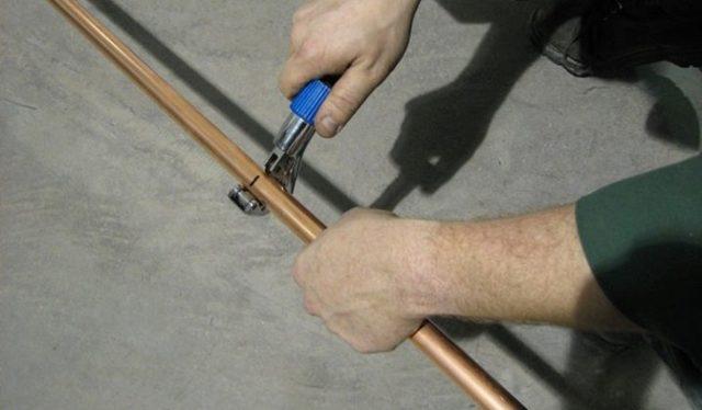 Как заточить трубу для резки