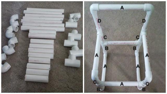 Сделай сам все из пластиковых труб