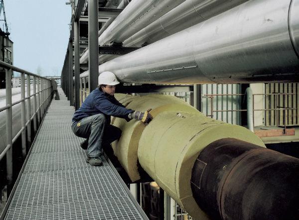Толщина теплоизоляции трубы минеральной ватой