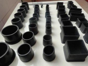Сварные заглушки для профильной трубы