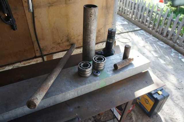 Трубогиб гидравлический для профильной трубы своими руками
