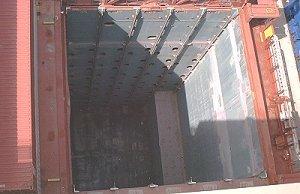 Откидной фитинг для контейнеровоза