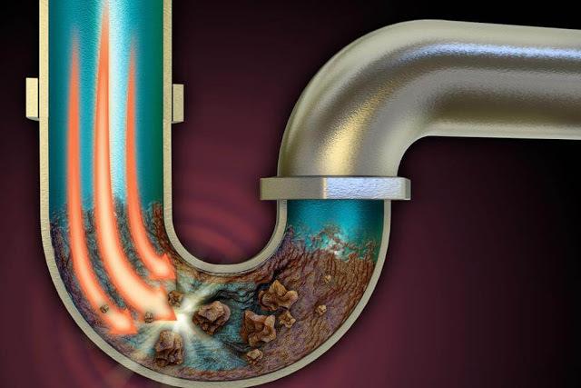 Как можно жир удалит из труб