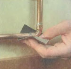 Холодная сварка для железных труб