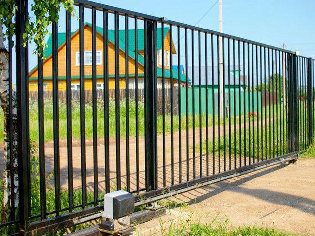 Сборка ворот из профильной трубы