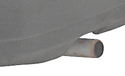 Сажа в выхлопной трубе приоры