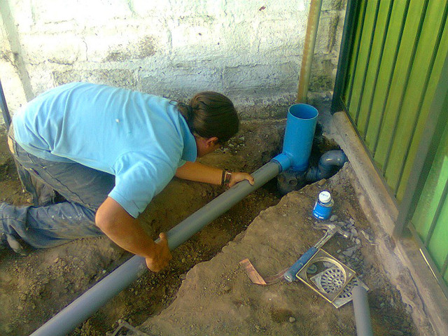 Диаметр канализационной трубы туалет