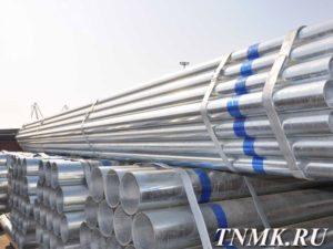 Труба стальная водогазопроводная оцинкованная стоимость