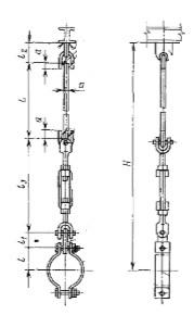 Типовые опоры для технологических трубопроводов