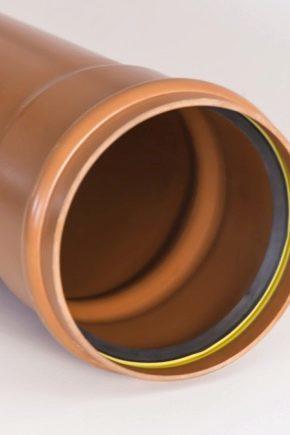 Самая маленькая канализационная труба диаметр