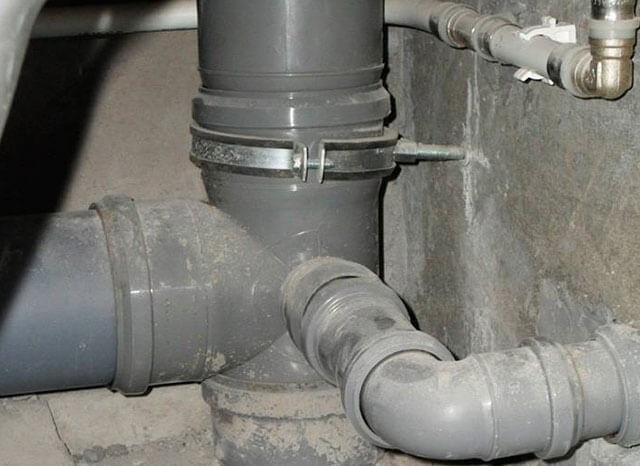 Диаметр трубы для слива раковины в ванной